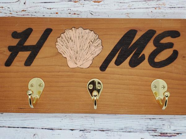 Handmade Home Seashell Key/Leash Holder