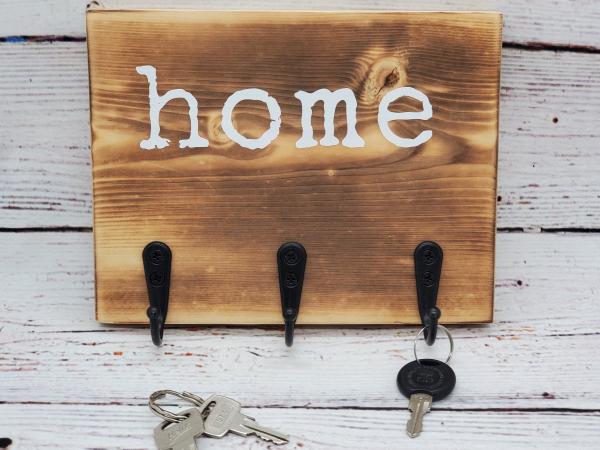Home Key/Leash Holder
