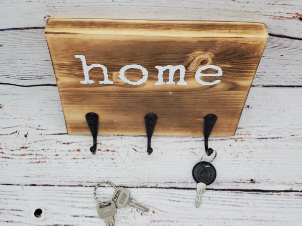 Home Key/Leash Holder alternate view