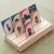 3 slot playing card holder - front view
