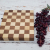 Handmade maple and walnut cheeseboard alternate view