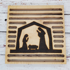 Christmas Nativity Trivet