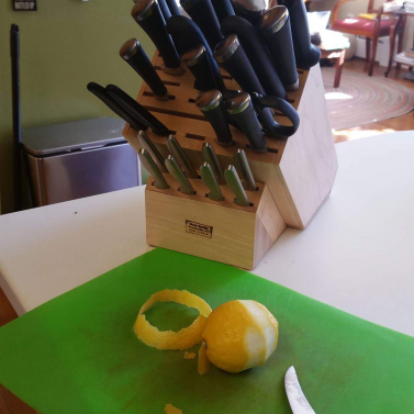 Custom Knife Block