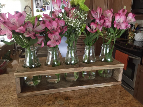 Custom Flower Vase Holder