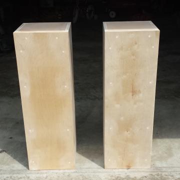 Custom pillars for a florist