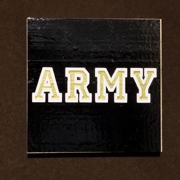 ARMY vinyl coaster