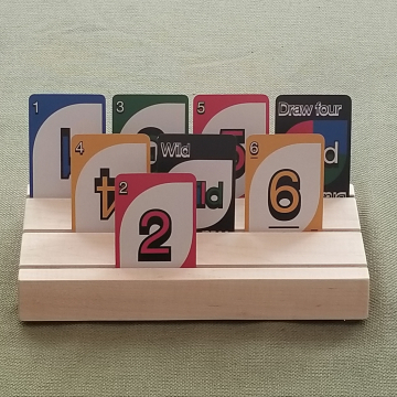 3-slot Playing card Holder