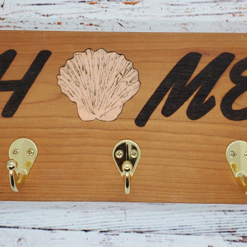 Handmade Home Seashell Key/Leash/Mask/Etc. Holder