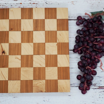 Handmade Maple and Cherry Cheeseboard