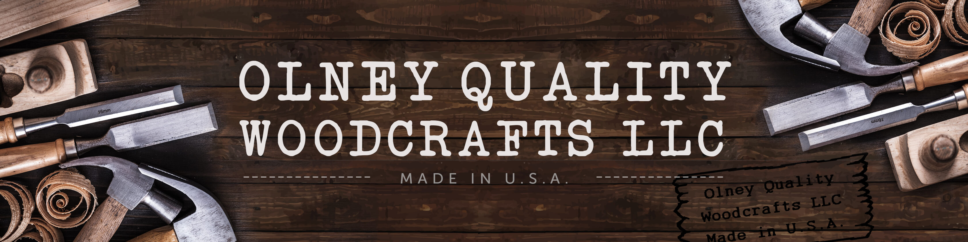 olneyqualitywoodcrafts.com Banner